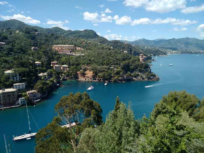 how far portofino from genoa