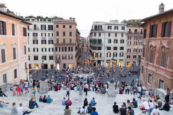 Rome Hotels Spanish Steps