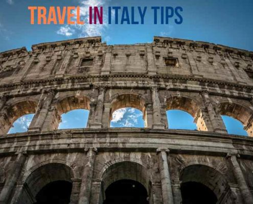 travel in italy tips